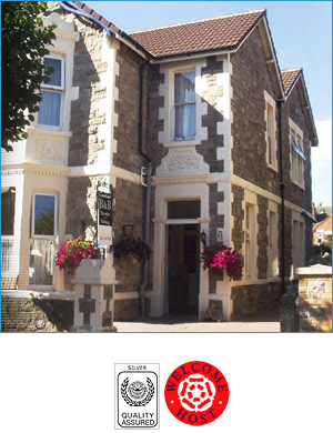 Courtland Guest House - B&B -                     Weston-super-Mare - Somerset